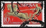 Stamps of the world : Spain :  Alegorias