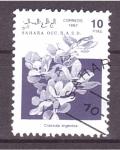 Stamps Spain -  serie- Plantas