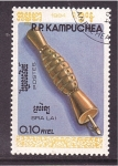 Stamps of the world : Cambodia :  serie- instr. music. antiguos