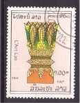 sellos de Asia - Laos -  el arte en Laos