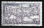 sellos de Europa - España -  Año Santo Compostelano - Rutas Jacobeas Españolas