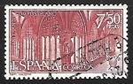 sellos de Europa - España -  Año Santo Compostelano  - Clautro de Santa Maria la Real,Logroño