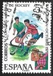 Sellos de Europa - España -  I Copa Mundial de Hockey