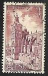 sellos de Europa - España -  Año Santo Compostelano - Catedral de Astorga