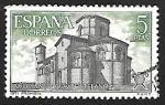 Sellos de Europa - España -  Año Santo Compostelano - Iglesia de San Martín, Frómista