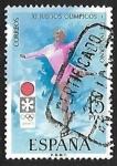 Sellos de Europa - España -  XI Juegos Olímpicos de invierno en Sapporo - Patinaje artístico