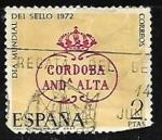 de Europa - España -  Dia mundial del sello 1972