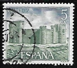 Stamps of the world : Spain :  Castillos de España - San Servando (Toledo)