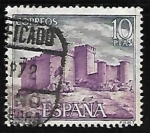 Stamps of the world : Spain :  Castillos de España - Pedraza (Segovia)