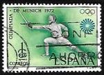 de Europa - España -  XX Juegos Olímpicos en Munich - Esgrima