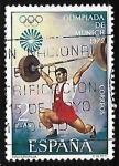 de Europa - España -  XX Juegos Olímpicos en Munich - Halterofilia
