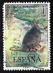 de Europa - España -  Fauna Hispánica - Topo de agua