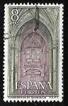 Sellos de Europa - España -  Monasterio de Santo Tomás - Nave central