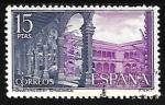 Sellos de Europa - España -  Monasterio de Santo Tomás - Patio de Reyes