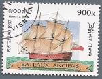 Stamps Asia - Laos -  Barcos de época - Victory - siglo XIX