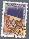 Stamps Africa - Tanzania -  500 aniv del descubrimiento de América