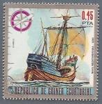 Stamps Africa - Guinea -  Nave Mediterránea 1350