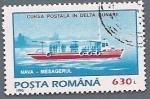 Stamps Europe - Romania -  Nave mesagerul - carrera postal en el delta del Danubio