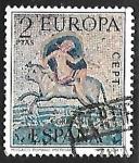 Stamps Spain -  Europa CEPT - Rapto de Europa