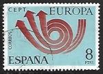 Sellos de Europa - España -  Europa CEPT -Diseño propuesto por la CEPT