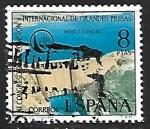 Sellos de Europa - España -  XI  Congreso de la Comision Internacional de Grandes Presas