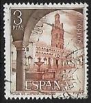 Sellos de Europa - España -  Serie Turística - Plaza de Llerena (Badajoz)