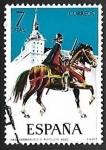 Stamps Spain -  Uniformes militares - Herreruelo