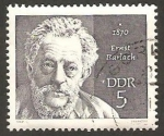 Stamps Germany -  1228 - Ernst Barlach