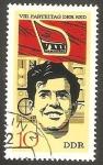 Stamps Germany -  1366 - 8 Congreso del Partido socialista unificado aleman