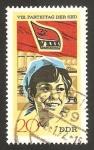 Stamps Germany -  1367 - 8º Congreso del Partido Socialista unitario aleman, agricultura indiustrial