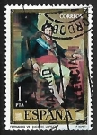 Stamps Spain -  Vicente López Portaña -