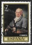 Stamps Spain -  Vicente López Portaña -