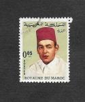 Sellos de Africa - Marruecos -  171 - Rey Hasán II