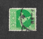Stamps India -  278 - Mapa