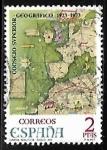 Stamps Europe - Spain -  L Aniversario del Consejo Superior Geográfico