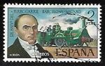 Stamps Europe - Spain -  125º aniversário del Ferrocarril Barcelona-Mataró