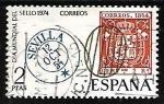 Stamps Spain -  Dia mundial del sello 1974