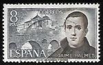 Stamps Spain -  Personajes españoles - Jaime Balmés