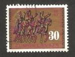 Stamps Yugoslavia -  955 - 3 Jinetes