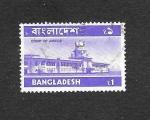 Sellos de Asia - Bangladesh -  Edificio