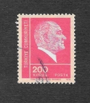Stamps Turkey -  1930 - Kemal Ataturk
