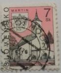 Stamps Slovakia -  MARTIN