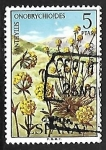 Stamps Spain -  Flora - Anthyllis onobrychioides