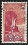 Stamps Spain -  Monasterio de Leyre - Capiteles