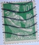 Stamps France -  TIPO SEGADORA