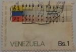 Stamps Venezuela -  100 AÑOS HIMNO NACIONAL 1881-1981