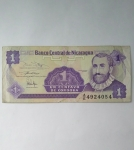 monedas del Mundo : America : Nicaragua :  Un centavo de cordoba