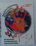Sellos del Mundo : America : Venezuela : Día Internacional de la Eliminación de la Violencia Contra la Mujer