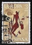 Stamps Spain -  Europa CEPT - Cueva de la araña