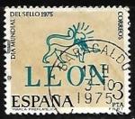 Sellos de Europa - España -  Dia mundial del sello 1975